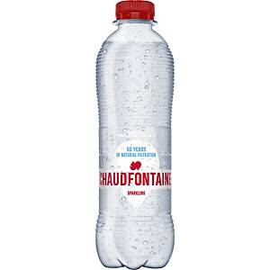 Eau pétillante Chaudfontaine, le paquet de 24 bouteilles de 0,5 l