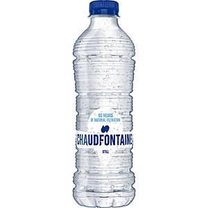 Eau minérale Chaudfontaine, le paquet de 24 bouteilles de 0,5 l