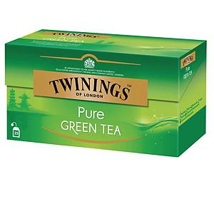 Twinings Pure Green pussitee, 1 kpl=25 pussia