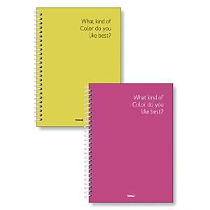 YJS YSN1104 BLANK BOOK 188 X 260 80P ASSORTED