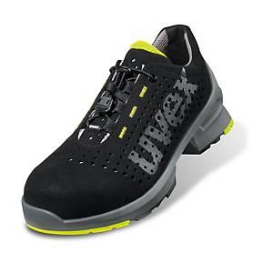 uvex 8543.8 munkavédelmi cipő, S1 SRC ESD, méret 43, fekete