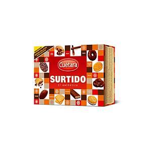 Caixa bolachas Cuétara - 420 g - sortido