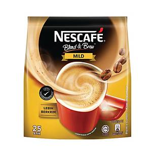 Nescafe 3 in 1 Coffee Mix Mild 19g - Pack of 25