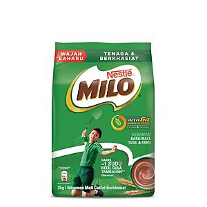 Milo Activ-Go Chocolate Malt Drink Nestle Soft - Pack of 2kg