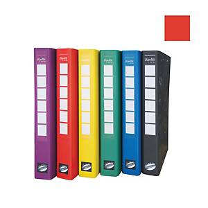 Bantex C Series Ring Binder With Wireclip 25mm Red