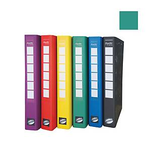 Bantex C Series Ring Binder With Wireclip 25mm Green