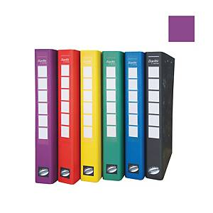 Bantex C Series Ring Binder With Wireclip 25mm Lilac