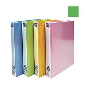 EMI-File PVC Glue on Ring A4 File 25mm Green