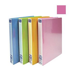 EMI-File PVC Glue on Ring A4 File 25mm Pink