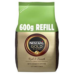 Nescafe Gold Blend Coffee Granules Pouch 600G