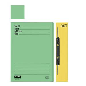 ABBA 102DST Manilla Card Folder Green
