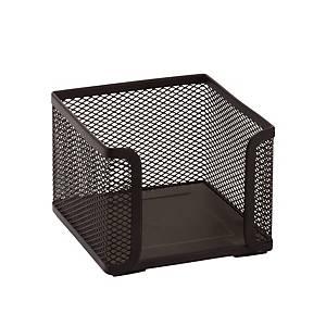 SaKOTA Zettelbox aus Drahtmetall, schwarz