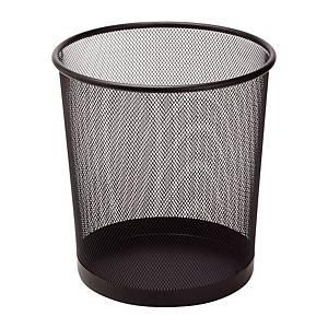 Drátěný odpadkový koš SaKOTA 10 l, černý