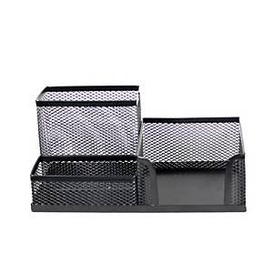 SaKOTA Schreibtischorganizer aus Drahtmetall schwarz