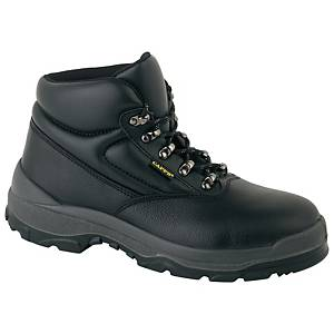 Deltaplus LH811 Chukka Safety Boots Black Size 42 (UK Size 8)