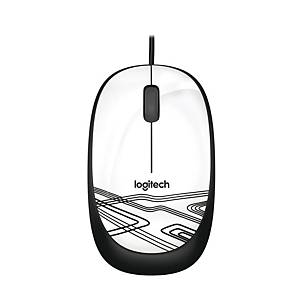 LOGITECH M105 WHITE MOUSE