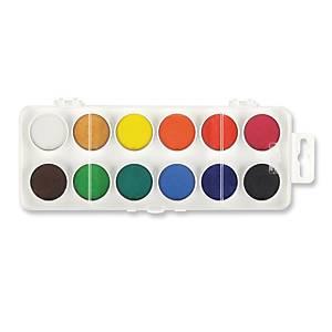 Koh-i-noor vízfesték, 12 szín/csomag