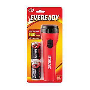 Eveready LED Flashlight 2D (Assorted Color)