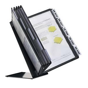 Durable Vario selailuteline ja 10 taskua A4 pöytämalli