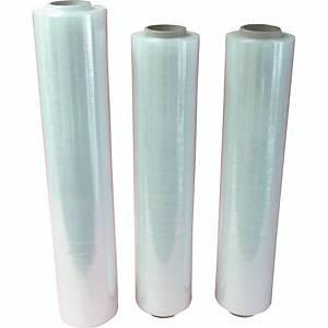 Stretchfolie WBV 440164, Breite: 10cm, Länge: 150m, transparent
