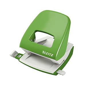 LEITZ 5008 2-HOLE PAPER PUNCH B/GREEN