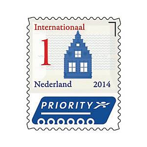 Zelfklevende postzegel Nederland, internationaal 1, tot 20 g, per 50 zegels