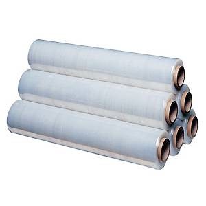 Extensible film 300 m x 50 cm 12 micron transparent - pack of 6