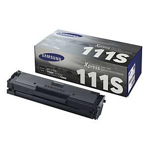Lasertoner Samsung MLT-D111S, 1 000 sidor, svart
