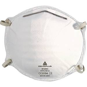 Delta Plus M1200C respiratory masks FFP2 without valve - box of 20