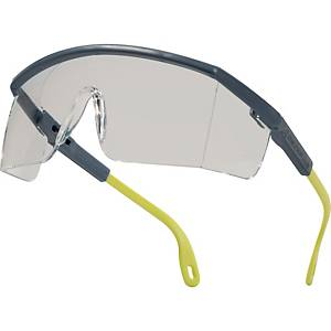 Delta Plus Kilimandjaro PC glasses grey/yellow - clear lens