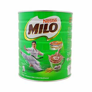 Milo Activ-Go Chocolate Malt Drink Nestle - Tin of 1.5kg