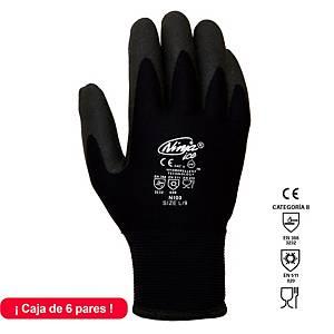 Caja de 6 pares de guantes para frío Juba Ninja Ice NI00 - talla 9