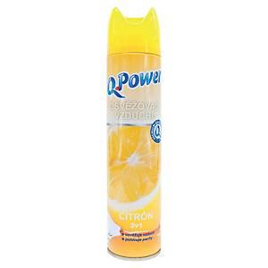 Q Power légfrissítő spray citrom 300ml