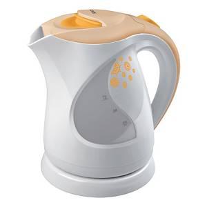 Sencor rychlovarná konvice 1 l, bílá-oranžová