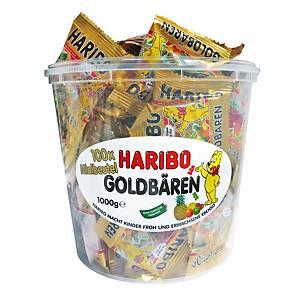 Haribo Mini gumimacik, 100 darab/csomag, 10 g