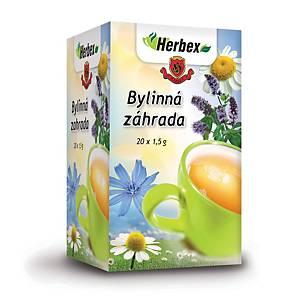 Čaj Herbex Bylinná záhrada, 20 vrecúšok à 1,5 g