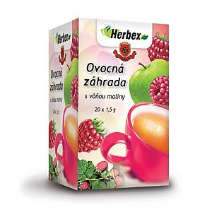 PK20 HERBEX FRUIT GARDEN TEA BAGS