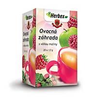 Čaj Herbex Ovocná záhrada, 20 vrecúšok à 1,5 g