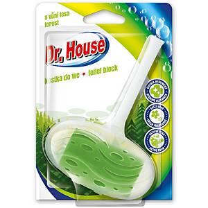 Závesný WC deo blok Dr. House lesná vôňa 40g