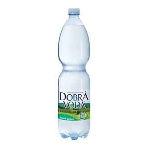 Dobrá voda jemně sycená 1,5 l, balení 6 ks