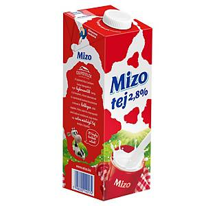 MIZO MILK UHT 2,8% 1L WITH CAP