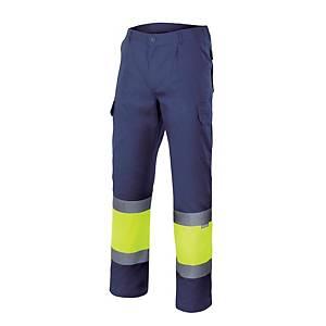 Pantalón Velilla de alta visibilidad - bicolor - talla 3XL