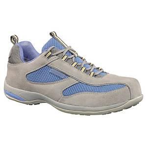 Chaussures de sécurité basses femmes Deltaplus Antibe S1 bleu/gris - pointure 40