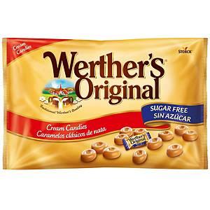 Bolsa de caramelos Werther s Original - sin azúcar - 1 kg