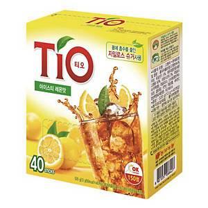 동서 티오 아이스티 레몬맛 13g X 40스틱
