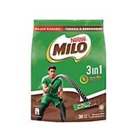 Milo Fuze 3 in 1 Sticks Nestle  33g - Pack of 30 (Nestle Malaysia)