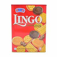 Kerk Hup Seng Lingo Assorted Biscuits - Box of 600g