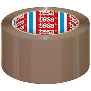Tesa® 4195 PP tape, bruin, 50 mm x 66 m, per 6 rollen tape
