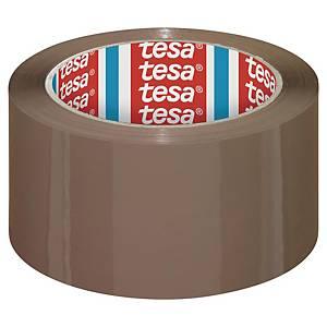Tesa pakkausteippi PP 50mm x 66m ruskea, 1 kpl=6 rullaa