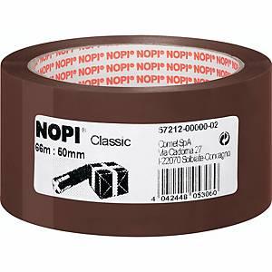 Packband Nopi 57212, 50mm x 66m, braun